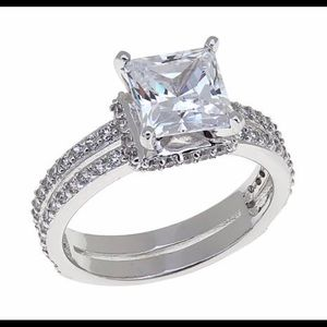 Jewelry - Absolute Cubic Zirconia Princess Cut Ring.